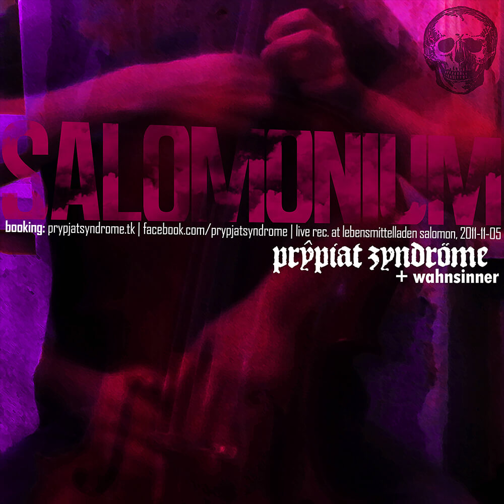 Prypjat Syndrome / Matthias Marggraff / CD-Cover: Salomonium (2011)